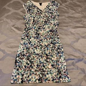 Ann Taylor Colorful Wrap Dress